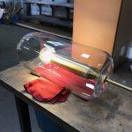 Portaluppi brass lamp holder