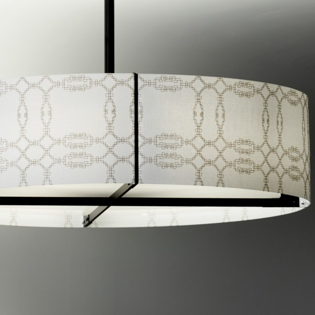 Embroidered pattern Xorel shade